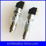 EXG.1B.304.HLN 4 pin solder pin lemo pcb cross connector Manufactures