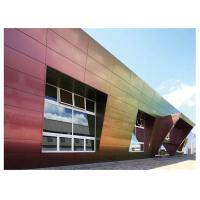 Fireproof 4mm 5mm Sandwich Aluminium Composite Panel Cladding For Curtain wall Manufactures