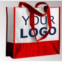 China OEM Production Recyclable Tote Bags Custom Logo Non Woven Bag Material on sale