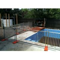 Buy cheap AS 1926.1-2012 Swimming Pool Temporary Pool Fence Panels1.2m x 2.3m Panels Size from wholesalers