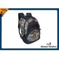 Quality Personalized Padded Camo Hunting Backpack Adjustable 600D Polyester for sale
