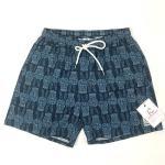 Stylish Mens Hawaiian Printed Board Shorts Surf No Fading Custom Design Manufactures