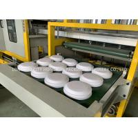 Thermoforming Foam Plate Making Machine With Digital Temperature Control Manufactures