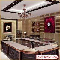 China Wholesale modern shop counter design showroom design for jewelry display on sale