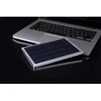 China 10000mAh Portable Solar Power Bank , Mini Solar Power Phone Charger for Smartphone on sale
