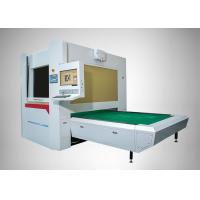 Quality Full Protection Galvanometer Scanning Co2 Laser Engraver 500W For Jeans / Denim for sale