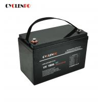 China Black Color Bluetooth Lithium Li Ion Battery Pack Self Heated Lifepo4 12V 100Ah on sale