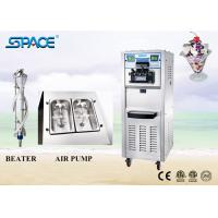 Air Pump Soft Serve Freezer Frozen Yogurt Ice Cream Maker With Casters 6250A Manufactures