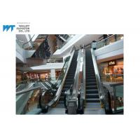 Low Noise Safety Cladding Escalator , Mechanical Escalator Max Vertical Rise ≤8000MM Manufactures