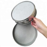 Buy cheap 100 150 200 400 600 Micron Wire Mesh Strainer , Stainless Steel Flour Sieve from wholesalers