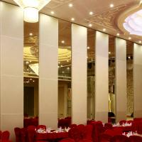 Banquet Hall Acoustic Movable Walls Wooden Soundproof Sliding Room Folding Partitions Manufactures