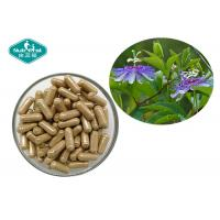 China Pure Herbal Supplements Passion Flower Capsules Dietary Supports A Calm Mood on sale