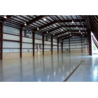 Welded H Section Steel Frame Garage , Fast Installation Prefabricated Workshop Buildings Manufactures