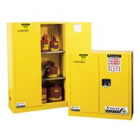 Quality Flammable Liquid Storage Cabinet, fireproof safety storage cabinets, yellow for sale