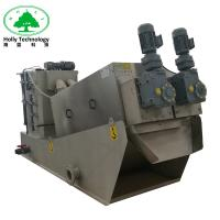 Enviroment Protect Food Waste Dewatering Machine In Waste Water Treatment Plant Manufactures