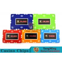 12g Leaf Design Clay Poker Chip With Custom Sticker 760 PCS With Aluminum Casio Case Manufactures