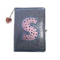 """6"""" x 8"""" Sequin special cover Journal with Rhinestones for daily writing and note taking Manufactures"""