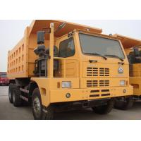 Left Driving Heavy Dump Truck For Mining 420 HP Engine Power HF12 Front Axle Manufactures