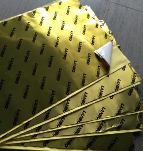 China Flame Retardant Aluminum Foil Butyl Vehicle Noise Dampening Material Waterproof wholesale