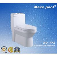 China Cool Santary Wares Siphonic One-Piece Toilet for Bathroom Facilities (771) on sale