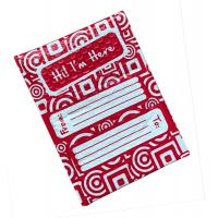 Full Printing Red Poly Bubble Mailers 6x10 Hot Melt Adhesive Glue ROHS Approval Manufactures