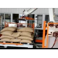 Automatic Robotic Palletizer For Logsitics System / FMCG / Food Beverage Manufactures
