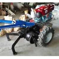 60KN Electrical Cable Pulling Tools 5 Ton Hand Tractor Winch With Double Drum Manufactures