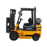 High Lift Portable Gasoline Forklift In Warehouse , Compact Forklift Trucks Manufactures