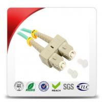 PVC 3.0mm ST To ST Fiber Patch Cable 62.5 / 125 Multimode Good Repeatability Manufactures