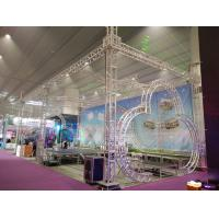 Exhibtion Booth Or Stage Lighting Truss , 290mm or 300mm Aluminum Square Bolt Truss Manufactures