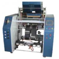 Roll Changing Stretch Film Slitting Rewinding Machine , Synchronous belt transfer Manufactures