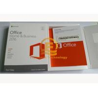 China Genuine Microsoft Office Professional 2016, Home And Business 2016 For 32 / 64 Bit COA Sticker Label on sale