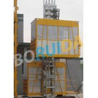 Ramp Door Style Construction Material Lifting Hoist , Construction Lifting Equipment Manufactures