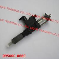 Quality DENSO Common rail fuel injector 095000-0660 for ISUZU 4HK1, 6HK1 8982843930, 8-98284393-0, 8982843931 for sale