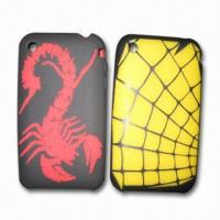 Laser Etched PDA Cases, Made of 100% Silicone, for Mobile Phone Manufactures
