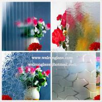 3mm, 4mm, 5mm Clear Patterned Glass Tempered/Toughened Glass for Bathroom/Furniture