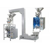Food Granule Packing Machine 500g - 3000g Each Bag Z Type Hoist SS Material Manufactures