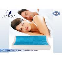 Visco rectangle Cooling Gel Pillow , wave summer cooling gel memory pillow Manufactures