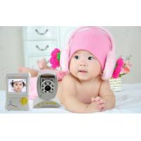 Household two way talk Audio & Video Baby Temperature Monitor night vision Manufactures