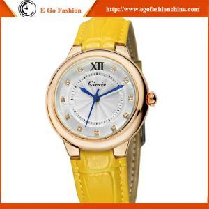 China KM11 Fashion Watch Ladies Women's Fashion Casual Modern Leather Analog Quartz Wrist Watch on sale