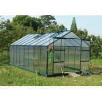 8*8ft hot sale greenhouse with two door and windows Manufactures
