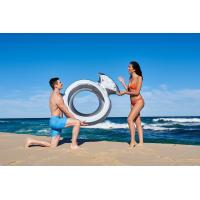 Inflatable Giant Diamond Ring Metallic Pool Float Toy Summer Raft Airbed Lounge Manufactures