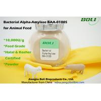 Light Brown Powder Animal Feed Enzymes Bacterial Alpha Amylase BAA - 0100S Manufactures