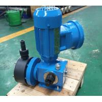 China Blue Mechanical Diaphragm Dosing  Pump Low Pressure for Waste Water Treatment on sale