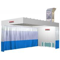 Auto Body Painting Prep Stations / Car Preparation Station For Public Manufactures