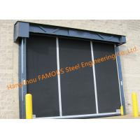 Extra-large Commercial Rubber Garage Doors Industrial-strength High Speed Roll Up Rubber Doors Manufactures