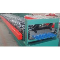 High Accuracy Japan PCL Control Roof Panel Roll Forming Machine For House Roof Tiles Manufactures