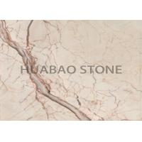 Kitchen Bathroom Floors Marble Slab Tile , Natural Stone Tile With Flat Edge Manufactures