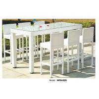 Good Quality white weaven rattan outdoor table and chairs Wholesale Manufactures