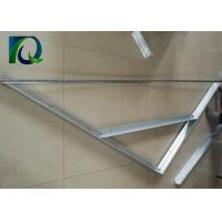 Customized 45X25MM Open Gable Trellis System Provide Full Accessories Manufactures